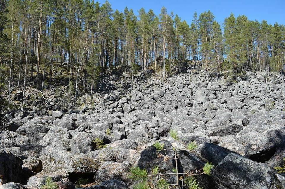 Jäppilän kivikuru kokonaiskuva