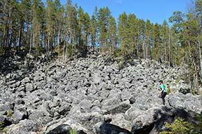 Jäppilän kivikuru Pieksämäellä