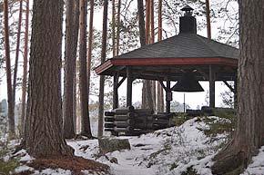 Kuopion Laivonsaaren nuotiopaikka