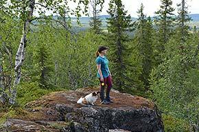 Teerivaaran kierros Syötteen kansallispuistossa
